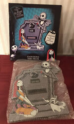 Disney Nightmare Before Christmas Holiday Countdown Table Decor New
