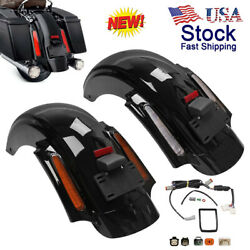 Motor Cvo Style Rear Fender System For Harley Touring Street Electra Glide 09-13