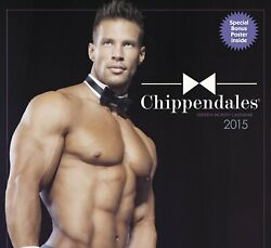 Chippendales 2015 Calendar Male Strippers Hunks Jaymes Vaughan + Posters Photo