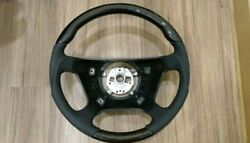 For Mercedes W140 W202 W210 And03996-and03999 S C E Steering Wheel Birdeye Black Leather