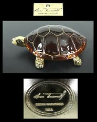 Vintage Hans Turnwald Signature Collection Turtle Hinged Covered Dish
