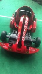 Electric Go-kart. Condition Is New In Box.white And Red Color.