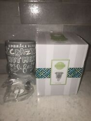 Scentsy Plug In Mini Wax Warmer Embrace Your Crazy Hot Mess Life Never Used