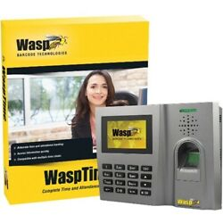 Wasp Wasptime Standard Biometric Time And Attendance System 633808550356