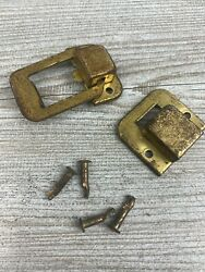 Vintage Rca Victor Orthophonic High Fidelity Shf-9 Locking Latch Hing And Catch