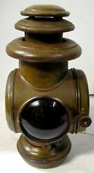Buick 1907-11 Brass Corcoran Tail Lamp Model T Ford