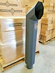 Offroad Arsenal 5 In 8 Out 48 Octagon Diesel Exhaust Stack Matte Black Cat