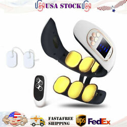 Electric Cervical Neck Massager Body Shoulder Relax Massage Relief Pain 6 Heads