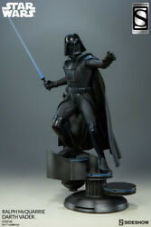Sideshow Exclusive Darth Vader Statue By Ralph Mcquarrie 212/750ex Concept Artis