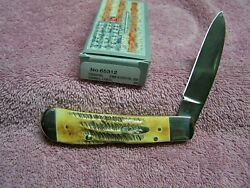 W R CASE BONE STAG TRIBAL LOCK SS 65312 NEW 4 1 8quot; WITH LOCK BLADE TB6.51201L