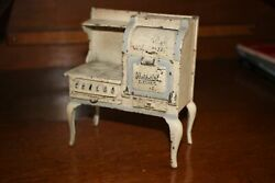 Antique Rare Cast Iron Arcade Hot Point Toy Childs Cooking Stove
