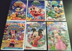 Mickey Mouse Clubhouse Kids Collector Dvds Lot 1