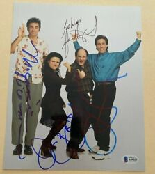 Seinfeld Cast Michael Richards Signed Autographed 8x10 Photo Extremely Rare Coa