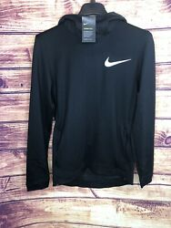 120 Mens Nike Therma Flex Basketball Pullover Hoodie Black Size S// Aq4214-010