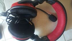 Dream Gear Universal Elite Wired Headset Xbox 360 Ps3 Wii U Pc Wii As Is Bad Mic