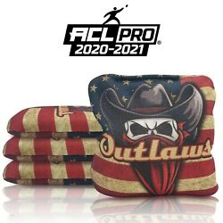 Local Bags Cornhole Se Outlaws Series - 4 Bag Set Pro - Acl Approved For 20/21