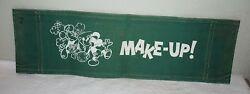 1. Vintage Make Up Chairand039s Canvas Back From Mickey Mouse Club Mid 1950and039s