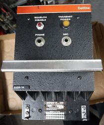 Rockwell Collins 618m-3a Untested Cond. Free Shipping