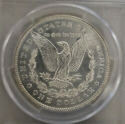 1878 Morgan Silver Dollar 7 Tail Feathers Pcgs Ms63 R78