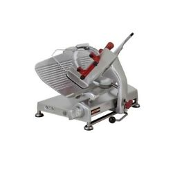 Axis Ax-s13g 13 Gear-driven Slicer 1/2hp Noiseless Operation W/ Sharpener