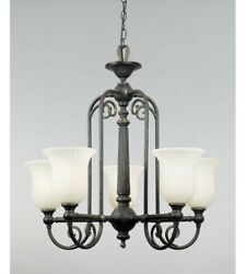 Quoizel Isabella Is5005ib Imperial Oil-rubbed Bronze 5-light Chandelier