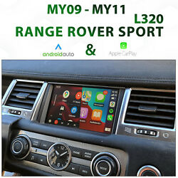 [my09-11] Range Rover Sport L320 - Apple Carplay And Android Auto Integration