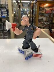 Rare Popeye As Police Officer Figurine Limited Edition 2816/3600 Statue 2002