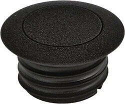 Harddrive Pop-up Screw In Smooth Vented Gas Cap - Wrinkle Black 03-0328b-a