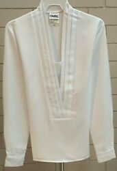 White Kay Blouse, Low Cut, Long Sleeve, Total Number Of Blouse 236