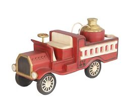 Toy Fire Truck Christmas Gift Decor Large Prop - Christmas Decoration