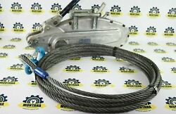 Westward T-35 Cable Tirfor Grip Hoist Winch T35 5 Ton With 50ft Cable Tractel