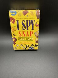 Briarpatch Inc Scholastic I Spy Snap Card Game 48 Jumbo Cards Complete 1998