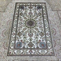 Yilong 3and039x5and039 Handknotted Silk Area Rug Home Interior Antistatic Carpet 264b