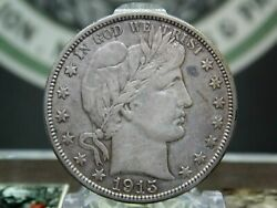 1915 D Barber Silver Half Dollar 50c 3 East Coast Coin And Collectables Inc.