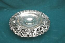 A Fine And Co. Circa 1900 Sterling Silver Repousse Center Bowl