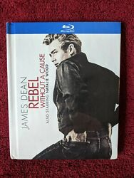 Blu-ray Rebel Without A Cause 2013, Digibook James Dean, Natalie Wood