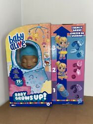 Baby Alive Baby Grows Up Happy Hope Or Merry Meadow Growing Doll In Hand Fast