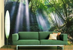 3d Solarium Forest 1416na Wallpaper Wall Mural Removable Self-adhesive Fay