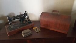 Singer Sewing Machine Antique 1924 Aa003755 For Sale