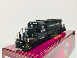 Mth 20-21316-1 Norfolk And Western Sd40-2 Diesel Engine 6080 W/ps 3.0 3 Rail New