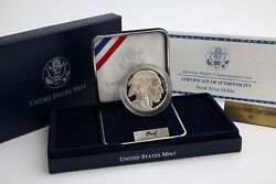 2001-p American Buffalo Silver 1 Coin Proof - Flawless