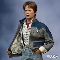 Screen Accurate Denim Jacket Back To The Future Marty Mcfly Michael J. Fox