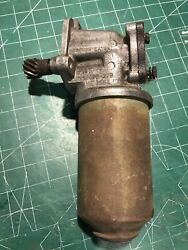 Lotus Twin Cam Elan Europa Cortina Oil Pump And Canister Filter Ford Kent Motors