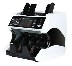 Mixed Denomination Bill Money Value Counter Multi-currency Counterfeit Detection