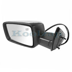 09-12 Ram Truck Mirror Power Heated Chrome W/turn Signal Puddle Lamp Driver Side