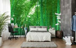 3d Bamboo Forest 2857na Wallpaper Wall Mural Removable Self-adhesive Fay