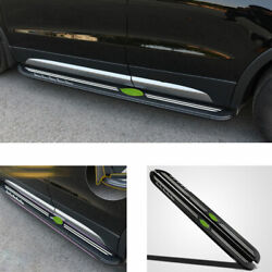 Fit For Cadillac Xt4 2018-20 Aluminum Alloy Running Board Side Pedals Foot Pedal