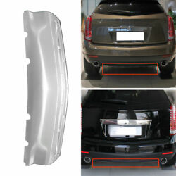 For Cadillac Srx 2010-2015 Stainless Steel Rear Bumper Lip Diffuser Bodykit 1pc