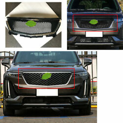 For 2019-2020 Cadillac Xt6 Abs Black Car Front Honeycomb Grille Grill Cover Trim
