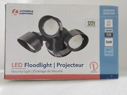 Lithonia Lighting Contractor Select 3 Light 7 Wide Led Commercial Flood Light
